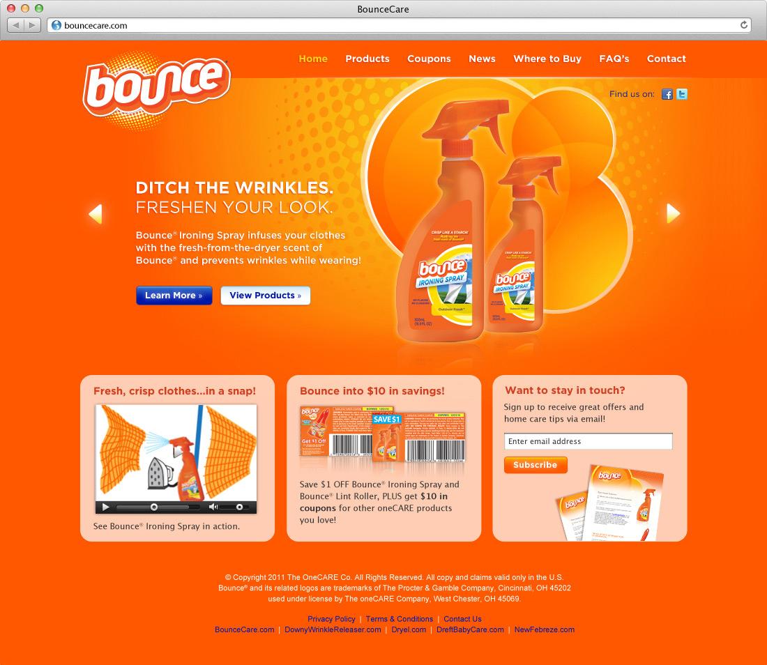 BounceCare Website