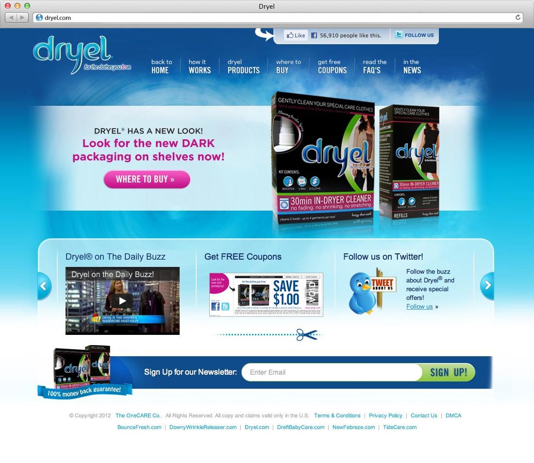 Dryel Website