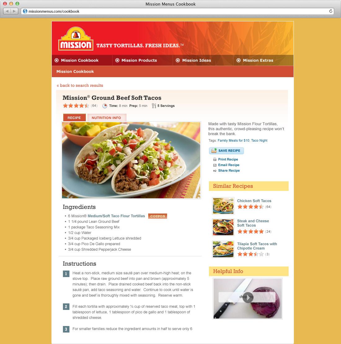 Mission Menus Cookbook