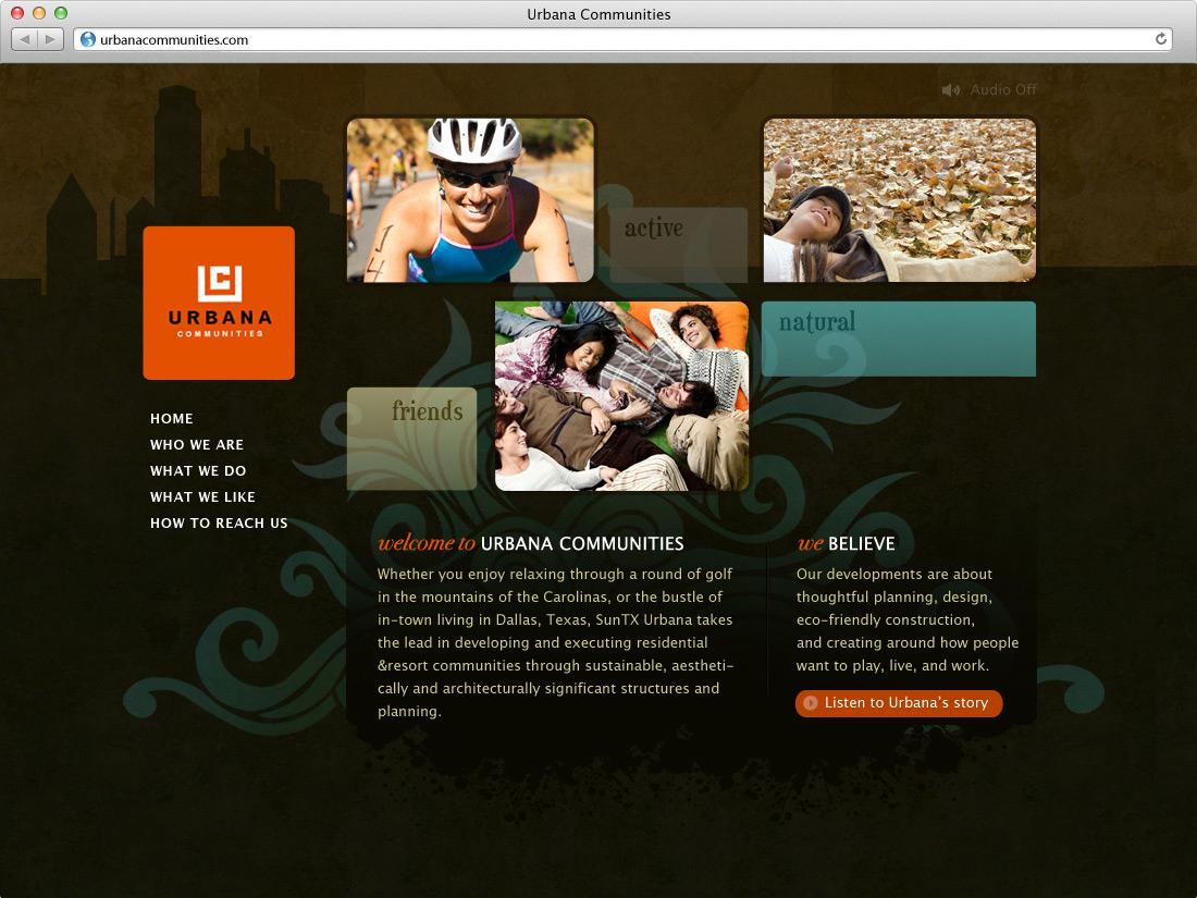 Urbana Communities Website
